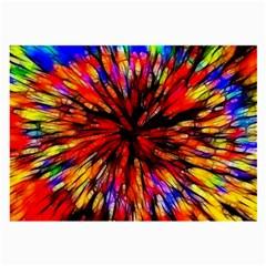 Color Batik Explosion Colorful Large Glasses Cloth