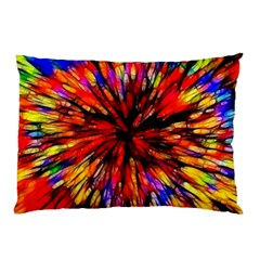 Color Batik Explosion Colorful Pillow Case