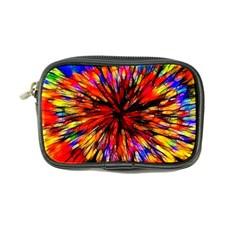 Color Batik Explosion Colorful Coin Purse