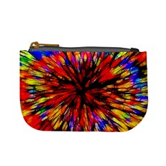 Color Batik Explosion Colorful Mini Coin Purses