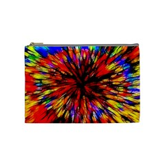 Color Batik Explosion Colorful Cosmetic Bag (medium)