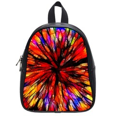 Color Batik Explosion Colorful School Bags (small)