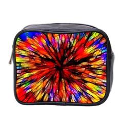 Color Batik Explosion Colorful Mini Toiletries Bag 2 Side