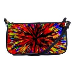 Color Batik Explosion Colorful Shoulder Clutch Bags