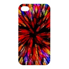 Color Batik Explosion Colorful Apple iPhone 4/4S Hardshell Case