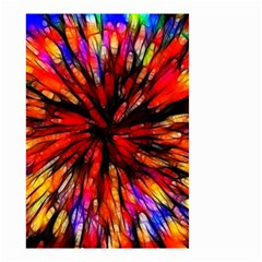 Color Batik Explosion Colorful Small Garden Flag (two Sides)