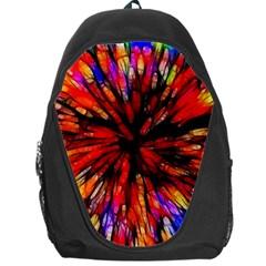 Color Batik Explosion Colorful Backpack Bag