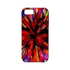 Color Batik Explosion Colorful Apple Iphone 5 Classic Hardshell Case (pc+silicone)