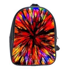 Color Batik Explosion Colorful School Bags (xl)