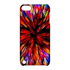 Color Batik Explosion Colorful Apple Ipod Touch 5 Hardshell Case With Stand