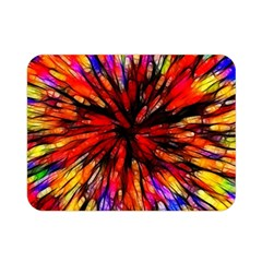 Color Batik Explosion Colorful Double Sided Flano Blanket (Mini)