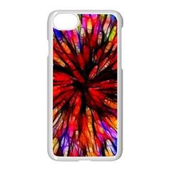 Color Batik Explosion Colorful Apple Iphone 7 Seamless Case (white)