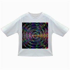 Wave Line Colorful Brush Particles Infant/toddler T Shirts