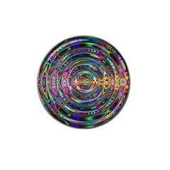 Wave Line Colorful Brush Particles Hat Clip Ball Marker (4 Pack)