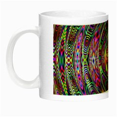 Wave Line Colorful Brush Particles Night Luminous Mugs