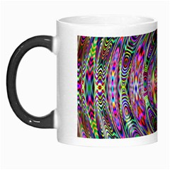Wave Line Colorful Brush Particles Morph Mugs