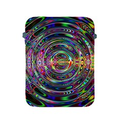 Wave Line Colorful Brush Particles Apple Ipad 2/3/4 Protective Soft Cases