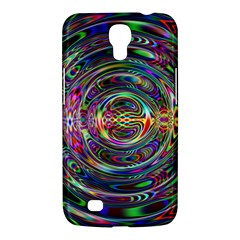 Wave Line Colorful Brush Particles Samsung Galaxy Mega 6 3  I9200 Hardshell Case