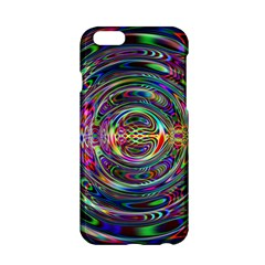 Wave Line Colorful Brush Particles Apple Iphone 6/6s Hardshell Case