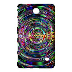 Wave Line Colorful Brush Particles Samsung Galaxy Tab 4 (7 ) Hardshell Case