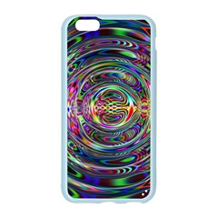 Wave Line Colorful Brush Particles Apple Seamless iPhone 6/6S Case (Color)