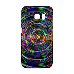 Wave Line Colorful Brush Particles Galaxy S6 Edge