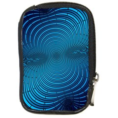 Abstract Fractal Blue Background Compact Camera Cases