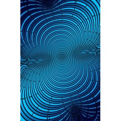 Abstract Fractal Blue Background 5 5  X 8 5  Notebooks