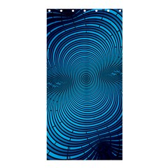 Abstract Fractal Blue Background Shower Curtain 36  X 72  (stall)