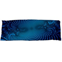 Abstract Fractal Blue Background Body Pillow Case Dakimakura (two Sides)
