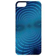 Abstract Fractal Blue Background Apple Iphone 5 Classic Hardshell Case