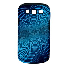 Abstract Fractal Blue Background Samsung Galaxy S Iii Classic Hardshell Case (pc+silicone)