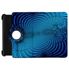 Abstract Fractal Blue Background Kindle Fire Hd 7