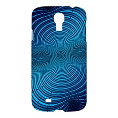 Abstract Fractal Blue Background Samsung Galaxy S4 I9500/i9505 Hardshell Case