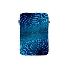 Abstract Fractal Blue Background Apple Ipad Mini Protective Soft Cases