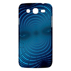 Abstract Fractal Blue Background Samsung Galaxy Mega 5 8 I9152 Hardshell Case