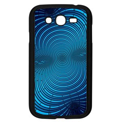 Abstract Fractal Blue Background Samsung Galaxy Grand Duos I9082 Case (black)