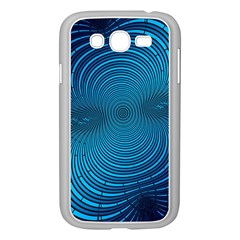 Abstract Fractal Blue Background Samsung Galaxy Grand Duos I9082 Case (white)