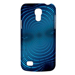 Abstract Fractal Blue Background Galaxy S4 Mini