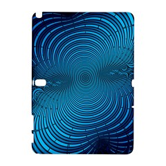 Abstract Fractal Blue Background Galaxy Note 1