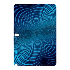 Abstract Fractal Blue Background Samsung Galaxy Tab Pro 10 1 Hardshell Case