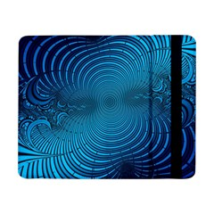 Abstract Fractal Blue Background Samsung Galaxy Tab Pro 8 4  Flip Case