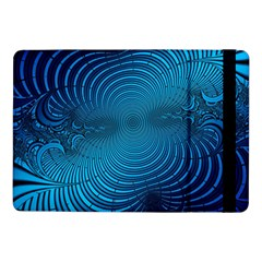 Abstract Fractal Blue Background Samsung Galaxy Tab Pro 10 1  Flip Case