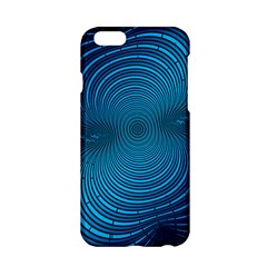 Abstract Fractal Blue Background Apple iPhone 6/6S Hardshell Case