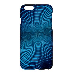 Abstract Fractal Blue Background Apple Iphone 6 Plus/6s Plus Hardshell Case