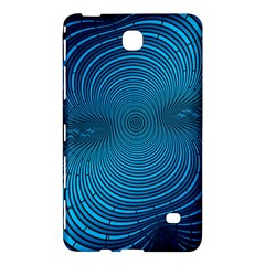 Abstract Fractal Blue Background Samsung Galaxy Tab 4 (7 ) Hardshell Case