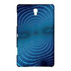 Abstract Fractal Blue Background Samsung Galaxy Tab S (8 4 ) Hardshell Case