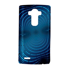 Abstract Fractal Blue Background LG G4 Hardshell Case
