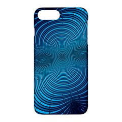 Abstract Fractal Blue Background Apple Iphone 7 Plus Hardshell Case