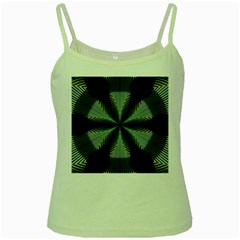 Lines Abstract Background Green Spaghetti Tank